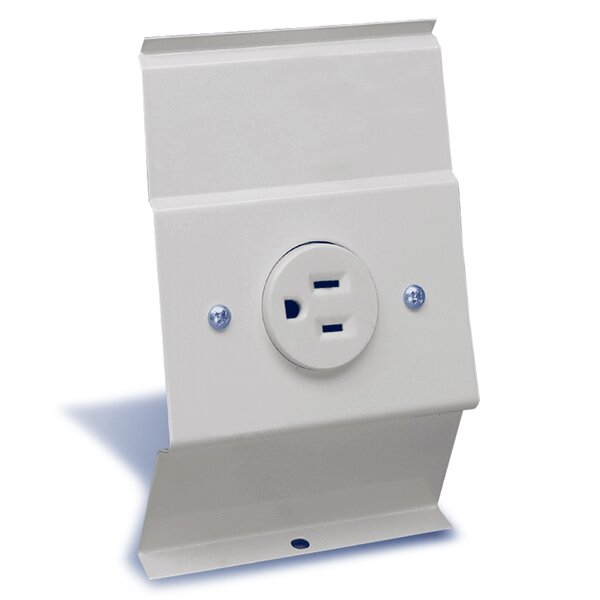 F Series Baseboard Integral Receptacle Kit Accessory by Cadet