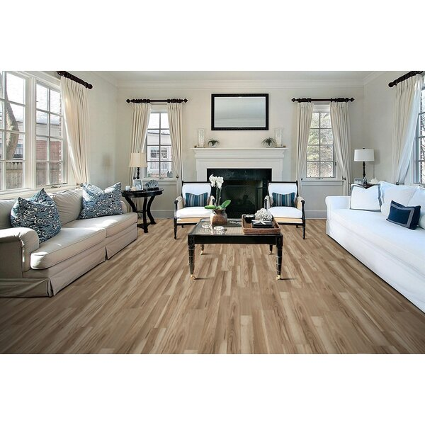 Stone Harbor 8 x 51x 8mm Tile Laminate Flooring in Bryant Hickory by American Concepts