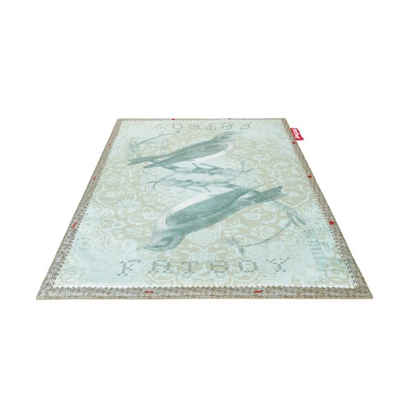 Tweet Non-Flying Blue Indoor/Outdoor Novelty Rug by Fatboy