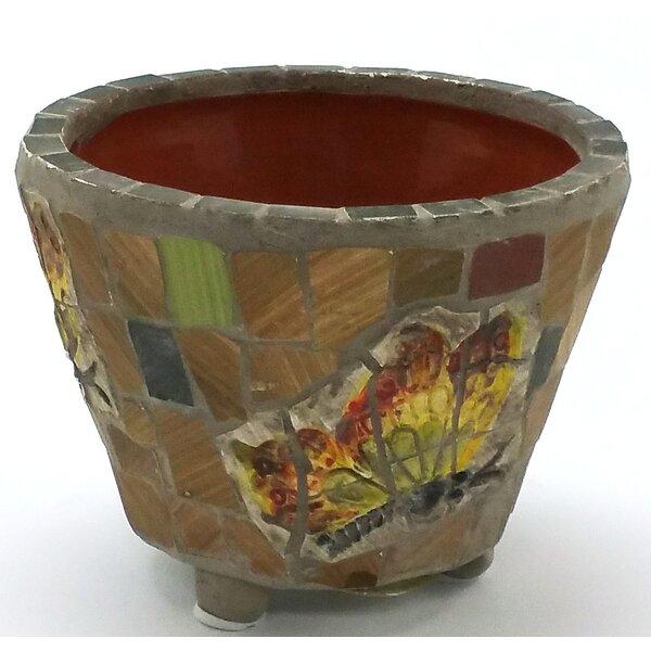 Hand Made Ceramic Pot Planter by Houston International