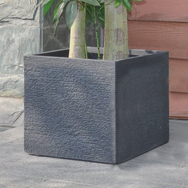 Origins Vela Square Composite Planter Box by Pride Garden Products