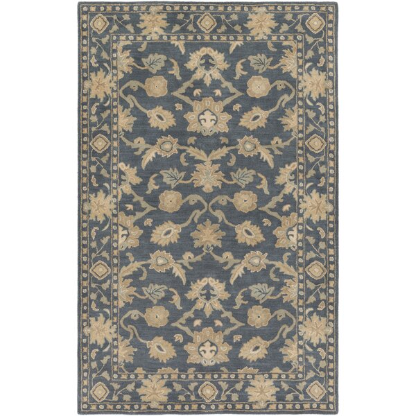 Topaz Hand-Tufted Sea foam Area Rug by World Menagerie