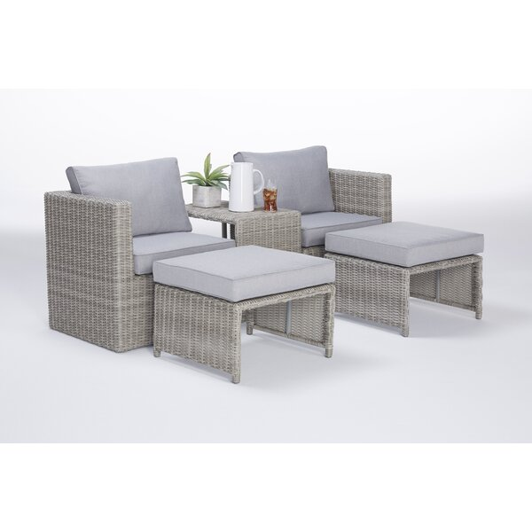 5 Piece Seating Group with Cushions