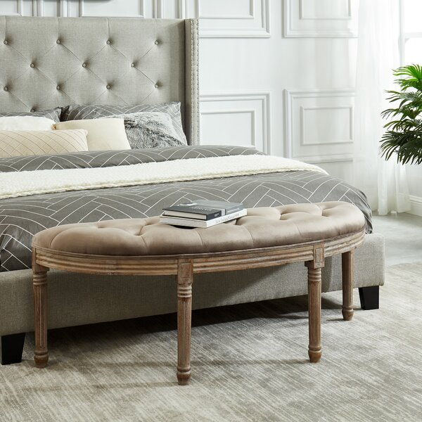 Prosper Upholstered Bench by Ophelia & Co.