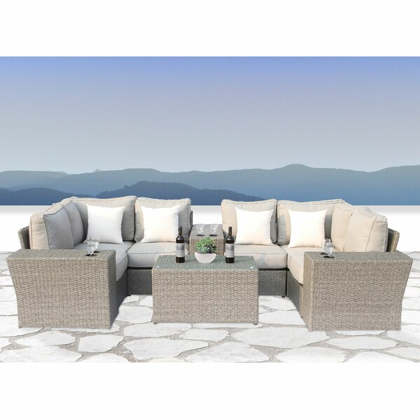Simmerman 10 Piece Sectional Set with Cushions by Brayden Studio