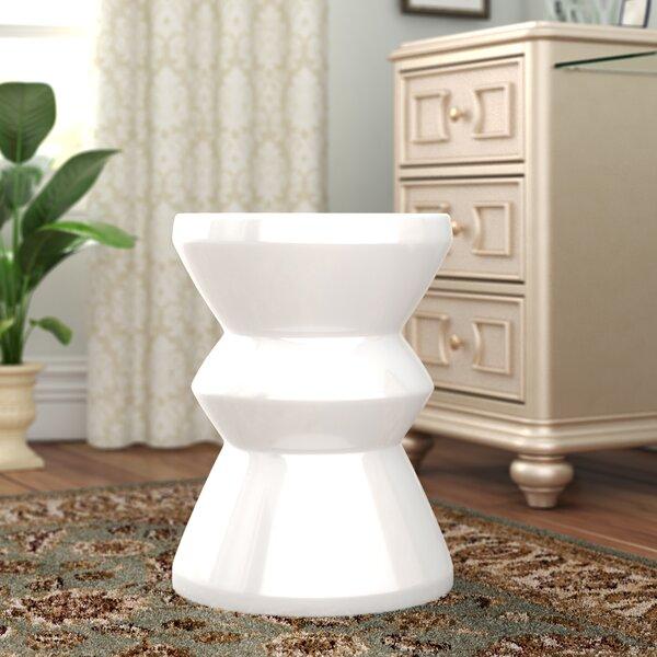 Oakside Ceramic Garden Stool by Brayden Studio