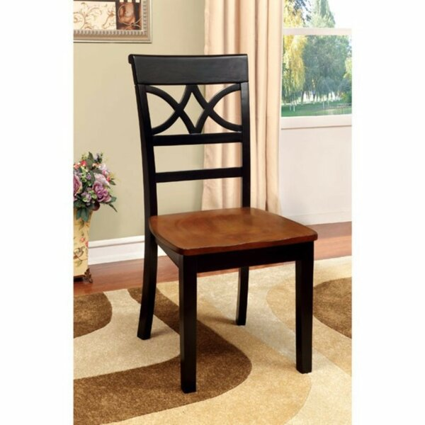 Oisin Solid Wood Side Chair (Set of 2) by Red Barrel Studio