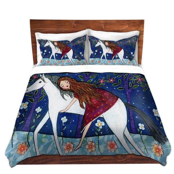 Horse Dreamer Duvet Cover Set by DiaNoche Designs