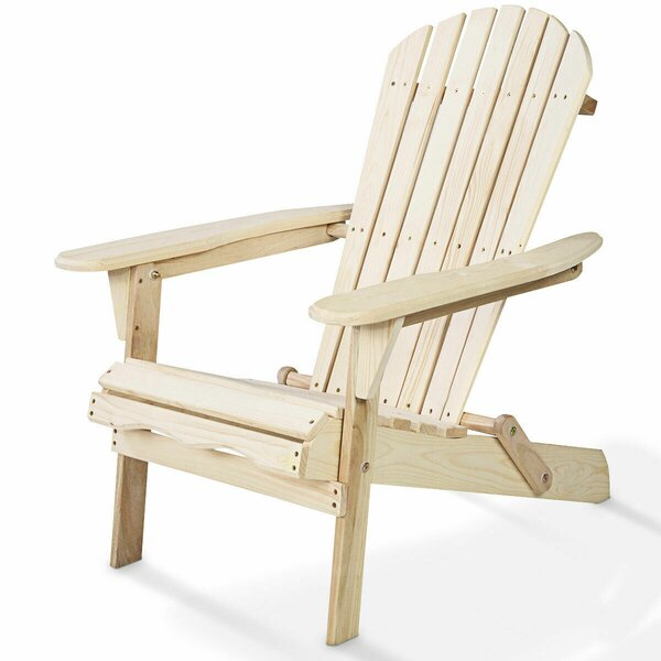 Hagan Garden Outdoor Wood Folding/Lightweight Adirondack Chair by August Grove August Grove