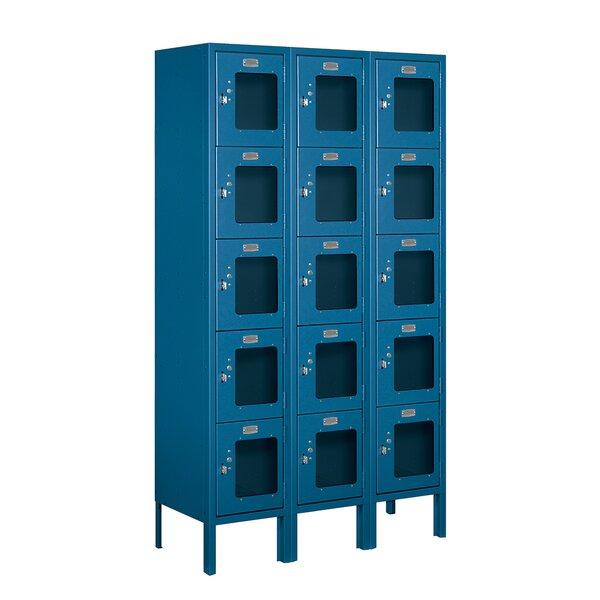 5 Tier 3 Wide Employee Locker by Salsbury Industries