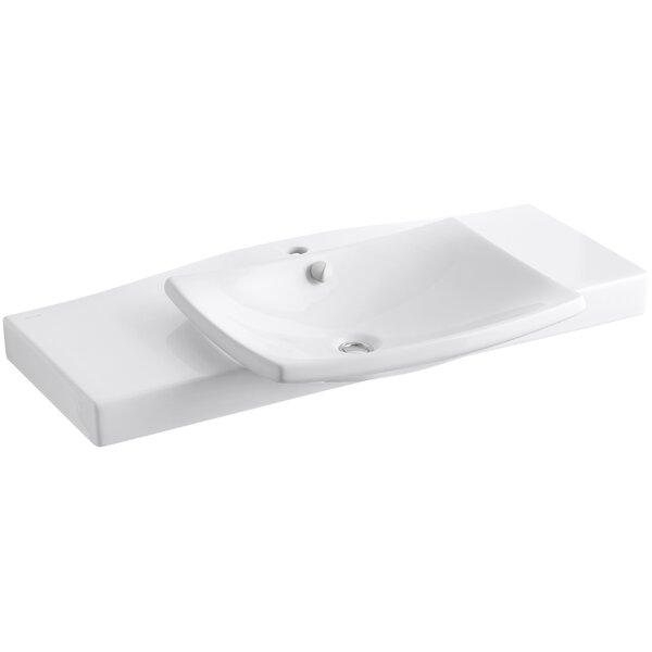 Escale Pedestal 40 Single Bathroom Vanity Top by Kohler