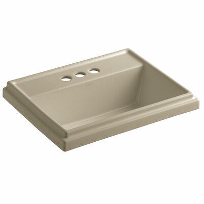 Drop Sink Ceramic Rectangular Overflow Faucetet 1332 Product Image