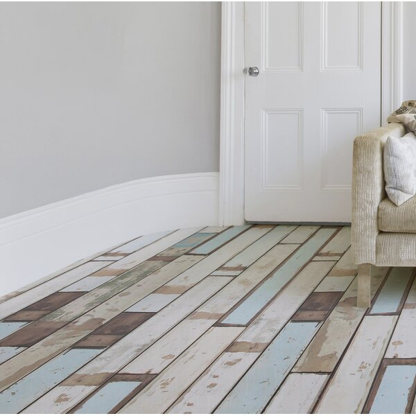 Naples 4 x 48 x 12mm Oak Laminate Flooring in Mixed Pastel by Branton Flooring Collection