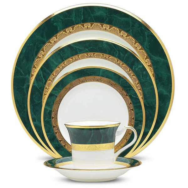 Fitzgerald 5 Piece Place Setting, Service for 1 by Noritake