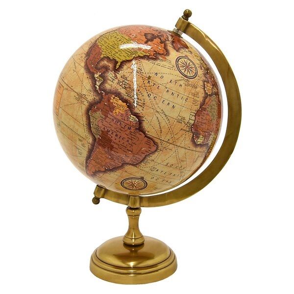 Antique Globe by Charlton Home