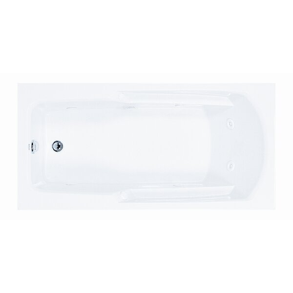 Reliance 59.75 x 35.75 Soaking Bathtub by Reliance