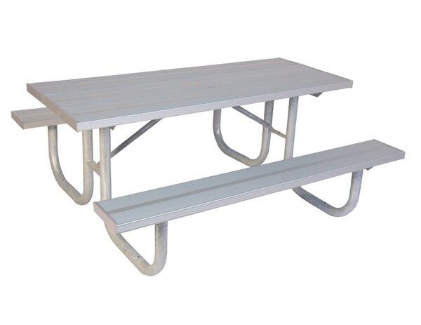 Extra Heavy Duty Aluminum Picnic Table by Ultra Play
