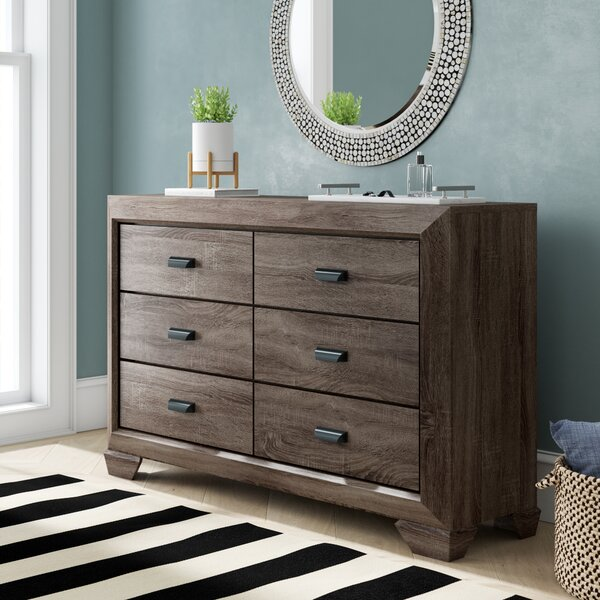 Weldy 6 Drawer Double Dresser by Brayden Studio
