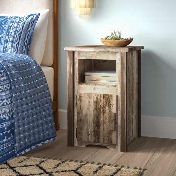 Abella Solid Wood End Table by Loon Peak