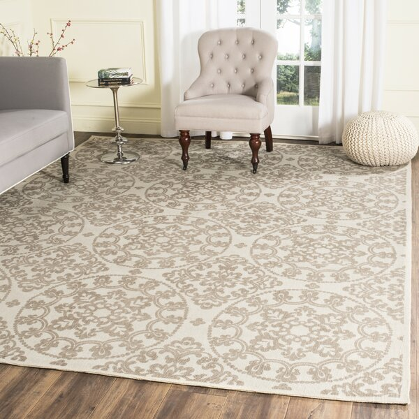 Charing Cross Hand-Loomed Natural/Taupe Area Rug by Charlton Home