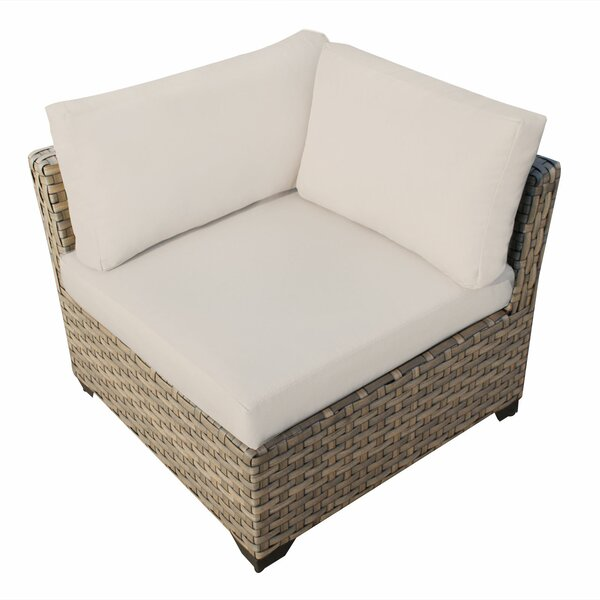 Monterey Corner Sectional Chair with Cushions by TK Classics