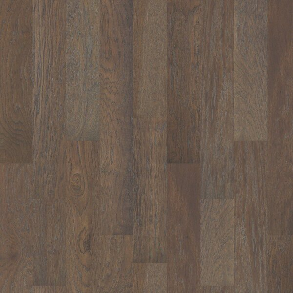 Dancing Queen 6 3/10 Engineered Hickory Hardwood Flooring in Salsa by Shaw Floors