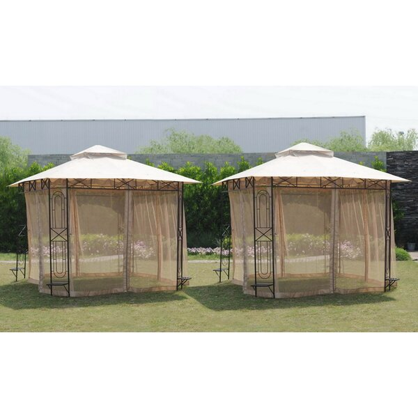 Replacement Mosquito Netting for Gazebo by Sunjoy