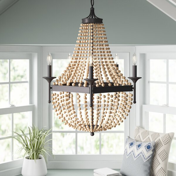 Moriah 5-Light Candle Style Empire Chandelier by Mistana Mistana