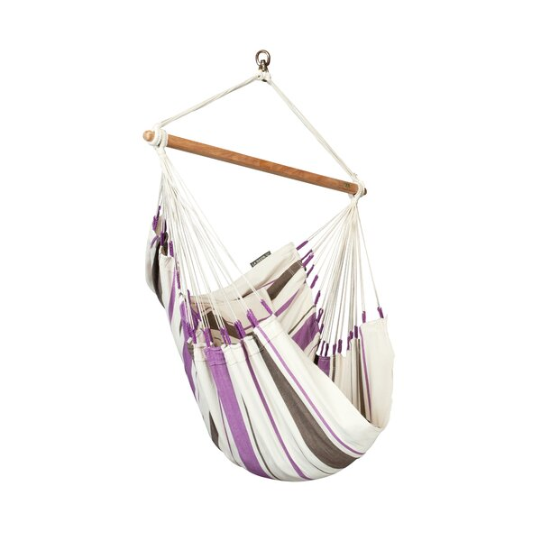 CARIBEÑA Cotton Chair Hammock by LA SIESTA