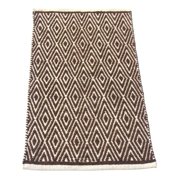 Fortin Brown/Ivory Indoor/Outdoor Area Rug by Bungalow Rose