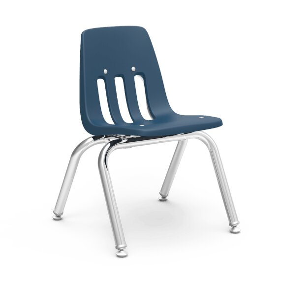 9000 Series Plastic Classroom Chair (Set of 4) by Virco