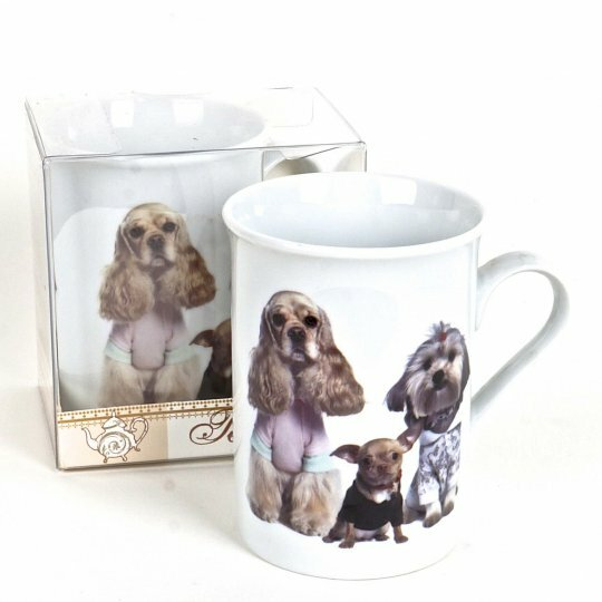Revathi Gift Box Dogs Coffee Mug by Red Barrel Studio