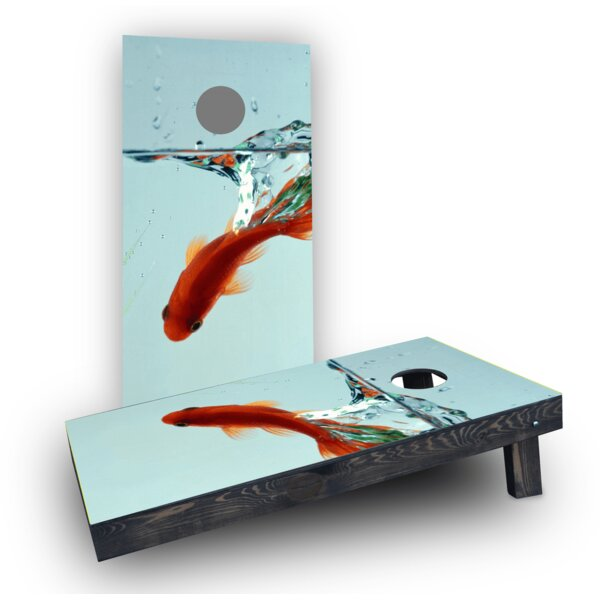 Goldfish (Set of 2) by Custom Cornhole Boards