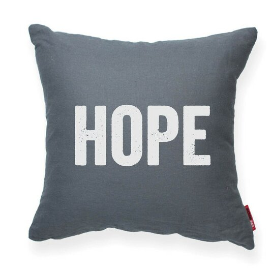 Expressive Hope Decorative Throw Pillow by Posh365