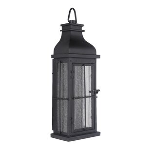 Bargain Wylie LED Outdoor Wall Lantern By Breakwater Bay