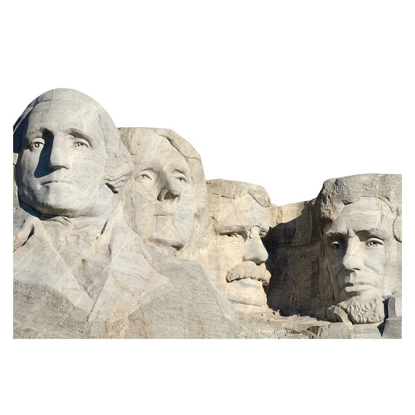 Mount Rushmore National Monument Cardboard Cutout Standup by Advanced Graphics