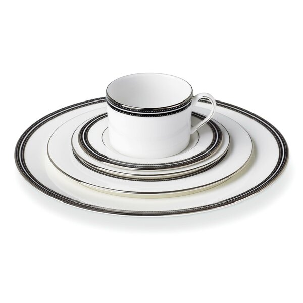 Union Street Bone China 5 Piece Place Setting, Service for 1 by kate spade new york