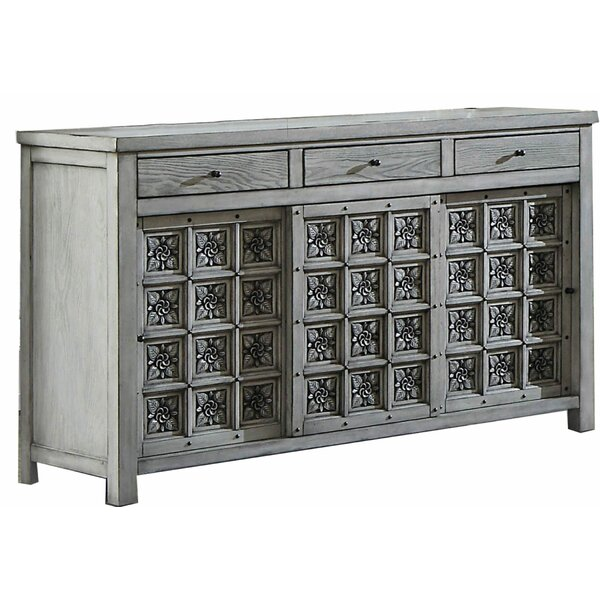 Flor Transitional Wooden 3 Drawer Combo Dresser by Ophelia & Co.