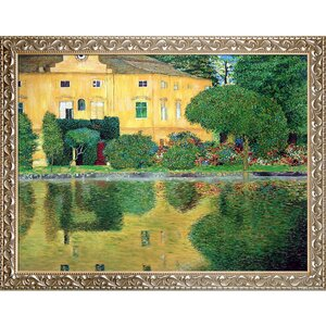 Schloss Kammer on Attersee' by Gustav Klimt Framed Painting on Canvas by Tori Home