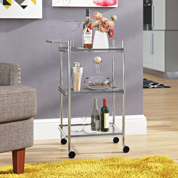Combe Down Bar Cart by Mercury Row