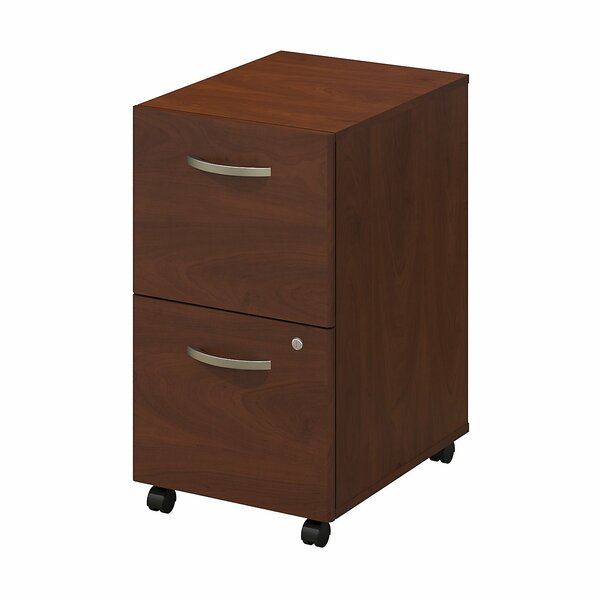Series C Elite Pedestal 2 Drawer Mobile Vertical File by Bush Business Furniture