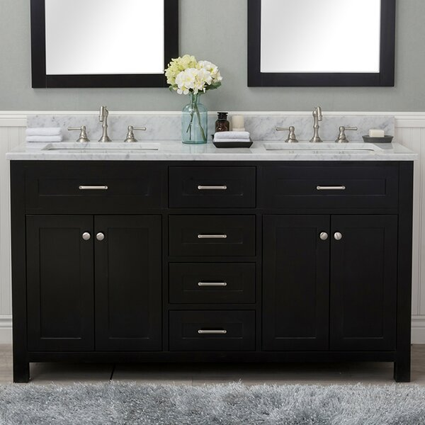 Cecilton 60 Double Bathroom Vanity by Red Barrel Studio