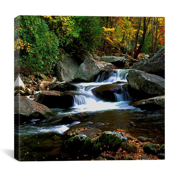Little River Elkmont by J.D. McFarlan Photographic Print on Canvas by iCanvas