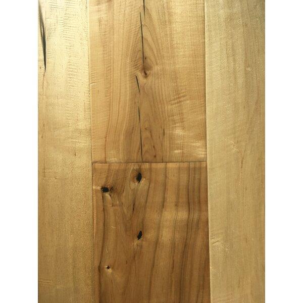 Rome 7.5 Engineered Maple Hardwood Flooring in Beige by Dekorman