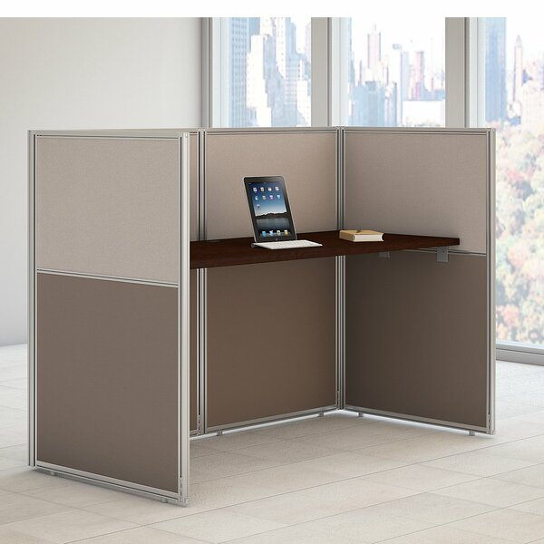 Easy Office Standard Desk Office Suite by Bush Business Furniture