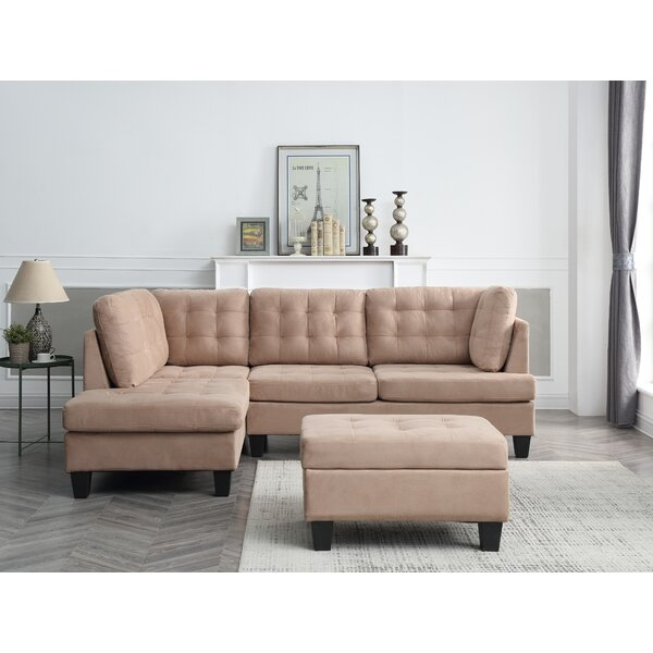 Americus Modular Sectional with Ottoman by Three Posts