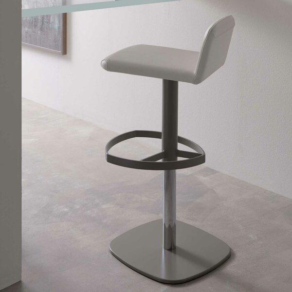 Scout Adjustable Height Swivel Bar Stool by YumanMod