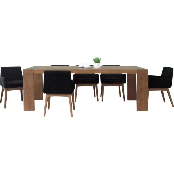 Bohostice 7 Piece Dining Set By Latitude Run Great Reviews