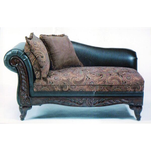 Oswego Chaise Lounge by Astoria Grand