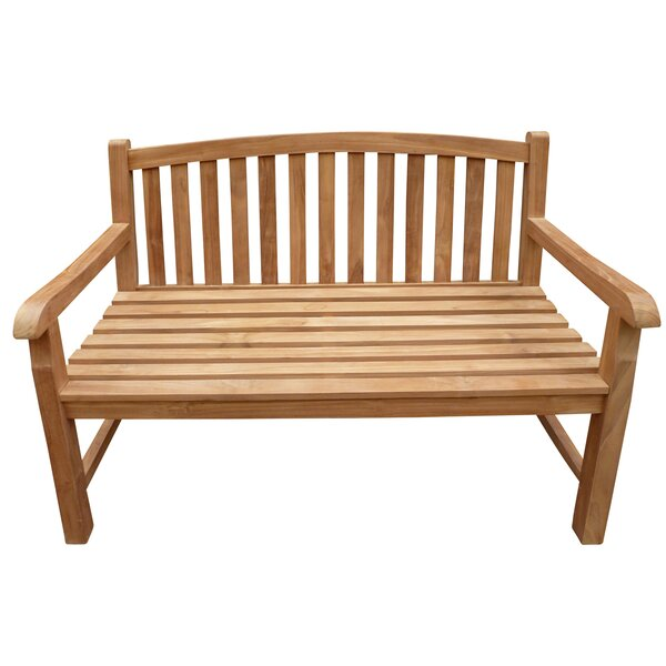 Cosey Teak Garden Bench by Highland Dunes